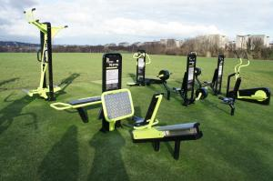 The Great Outdoor Gym Company Gym, TGO, pre launch outdoor gym in Edinburgh